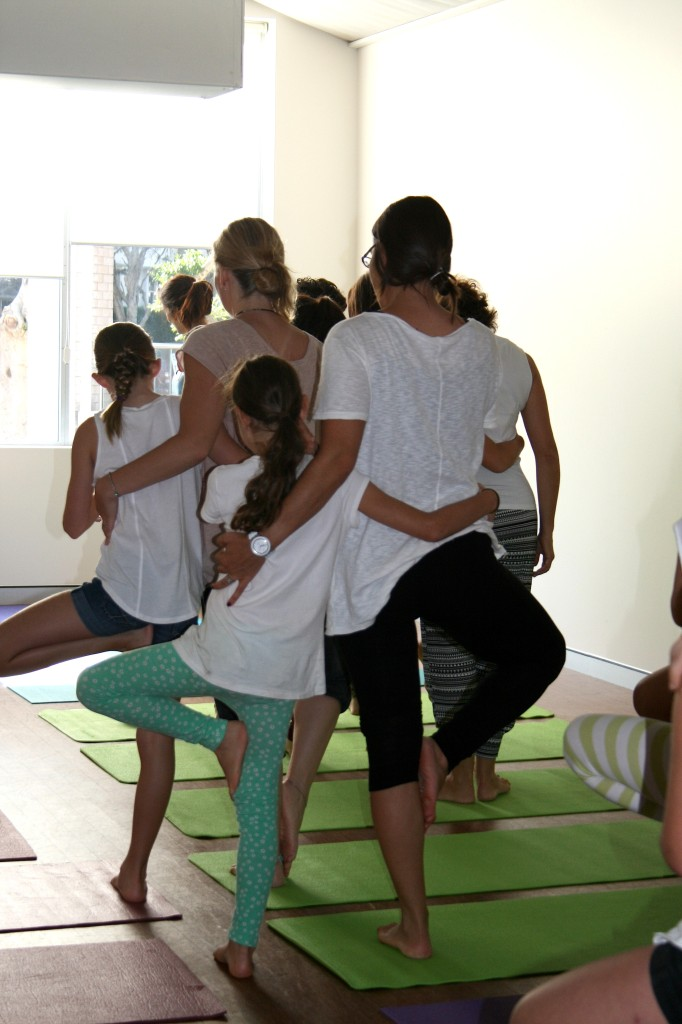 Team Mum & Me Yoga